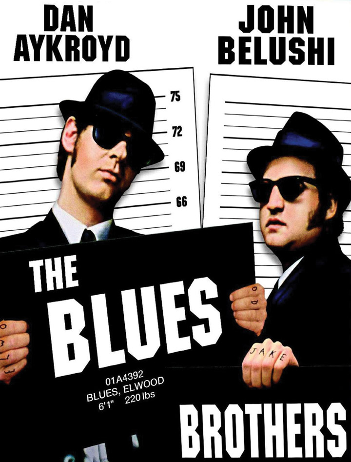 The Blues Brothers PJ magazine