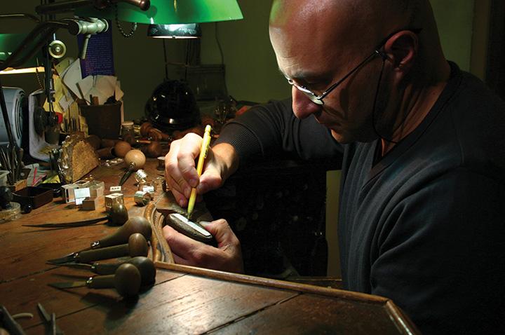 gioielliere incisione gioielli zaggia pj magazine