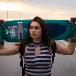 Brighton Zeuner, 13 anni, è già una minaccia per la medaglia di skateboard