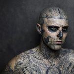 Zombie Boy Morto Rick Genest - PJ Magazine